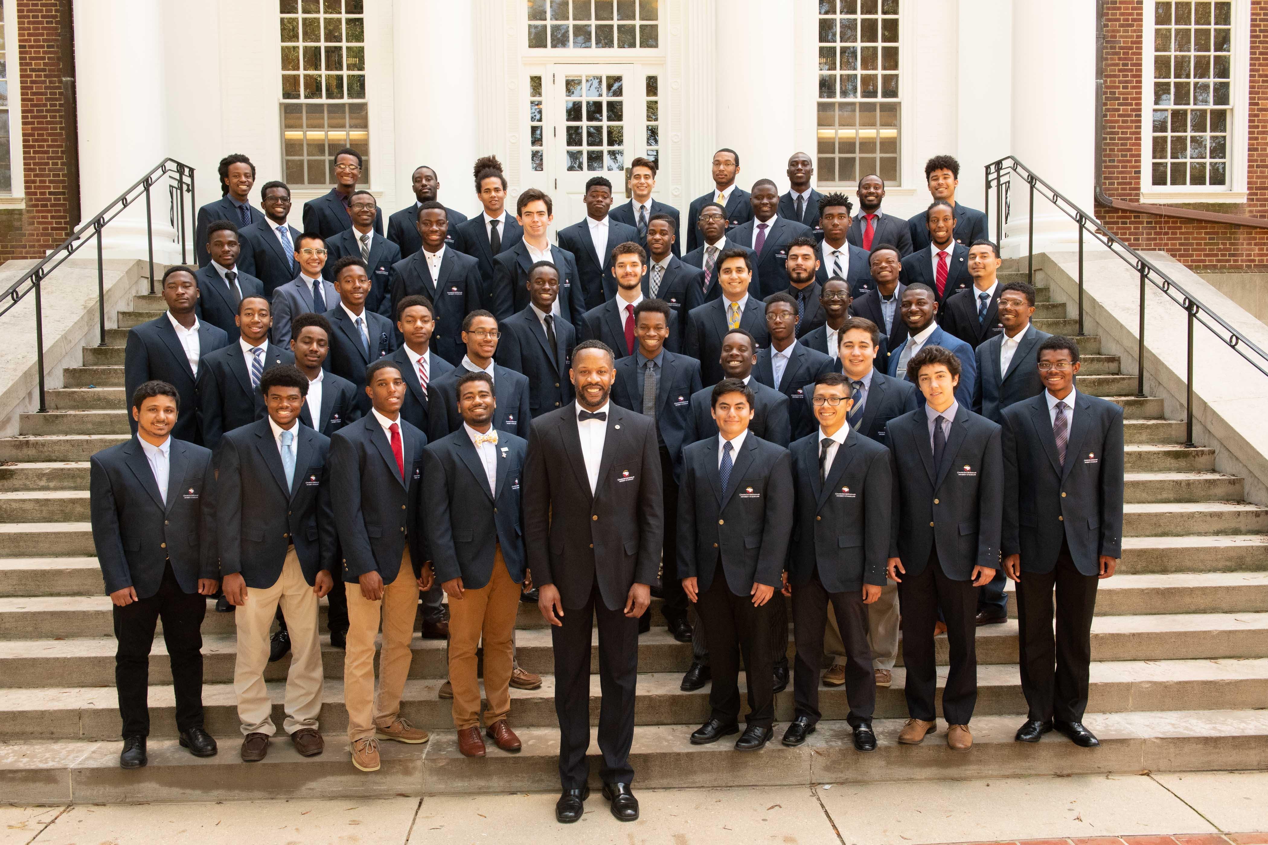 College Success Scholars Posing