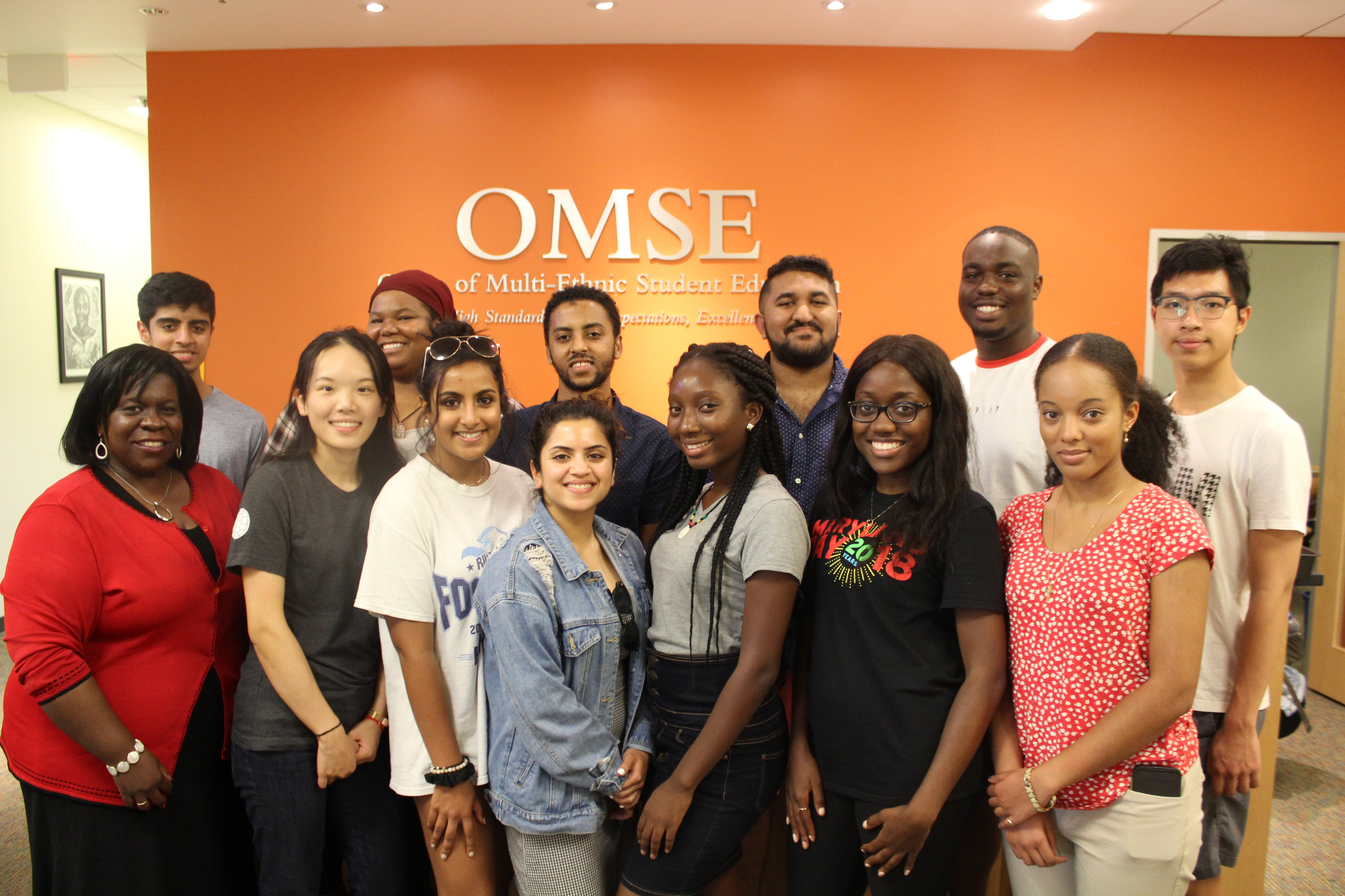 Group photo of OMSE tutors