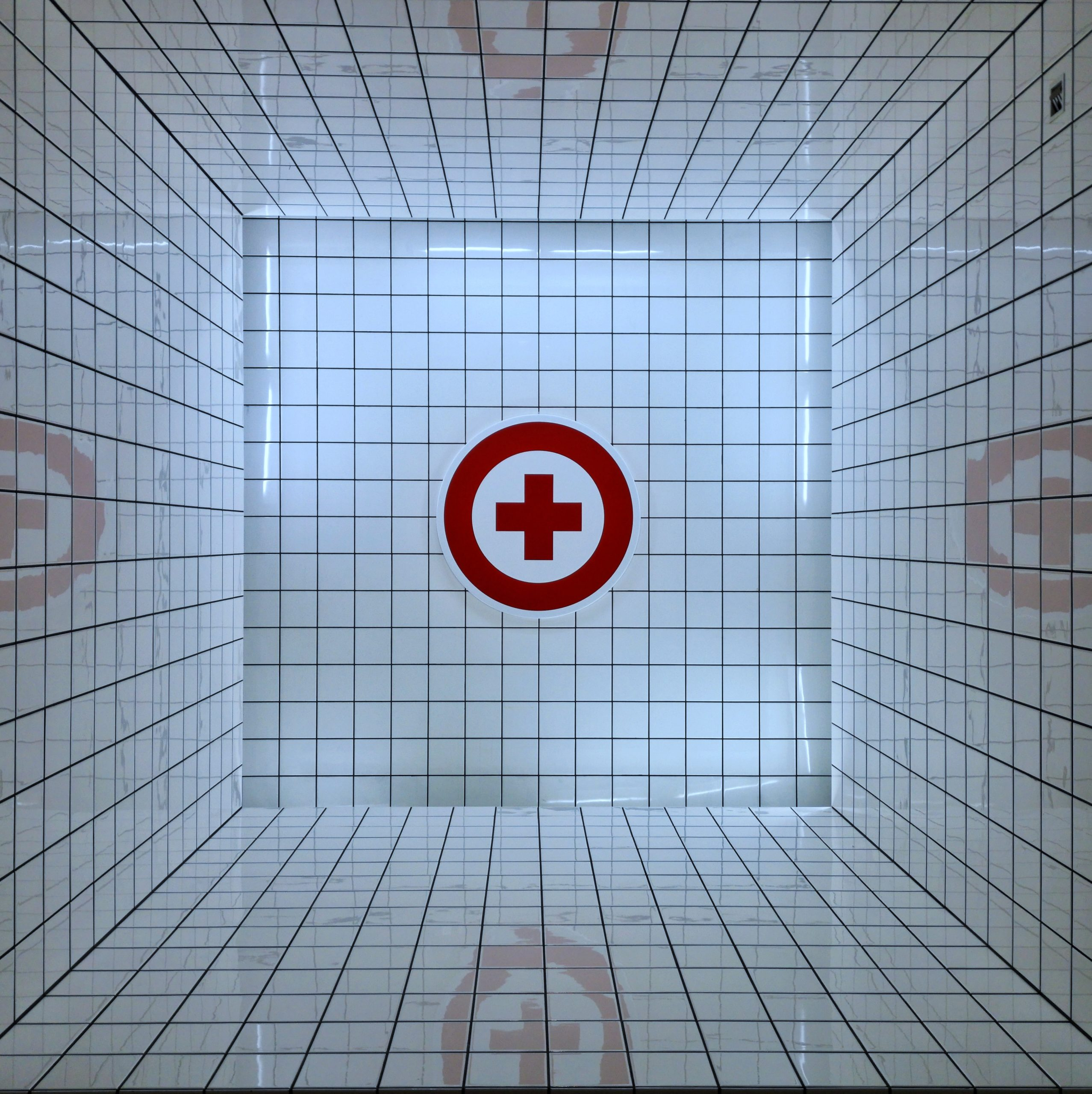 Photo of emergency symbol